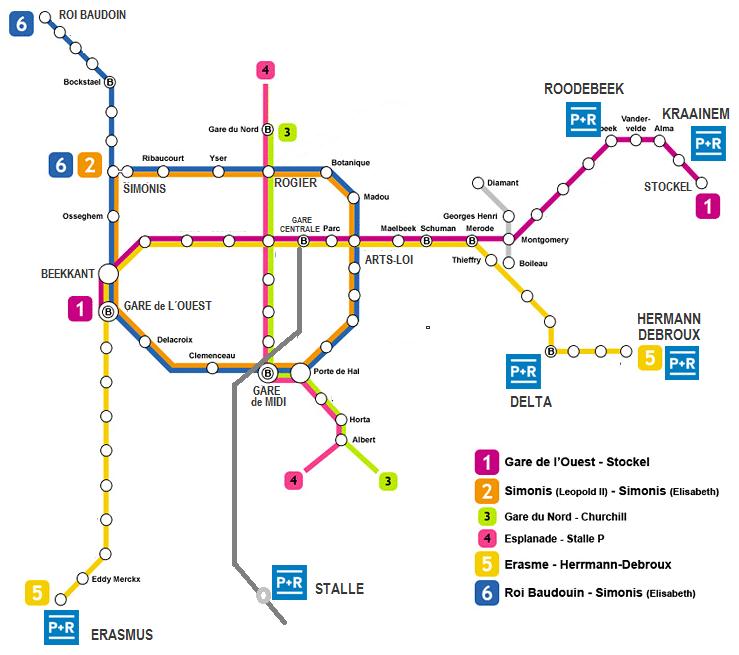 how to buy metro in belgium