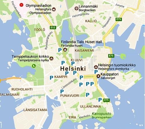 Parking Helsinki